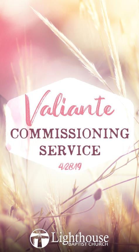 Valiante Commissioning Service - 2019-04-28